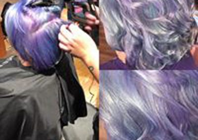 Cassidy purple hair color