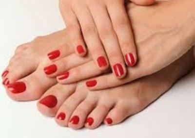 Manicure & Pedicure Final Result